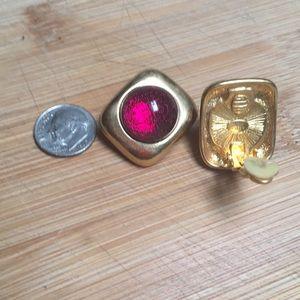 Kenneth Jay Lane Clip Earrings